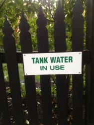 Használt vízzel locsolunk