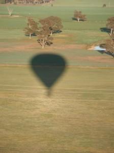 Hőlégballon Ausztrália felett